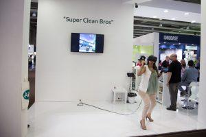 Il gioco SUPER CLEAN BROS