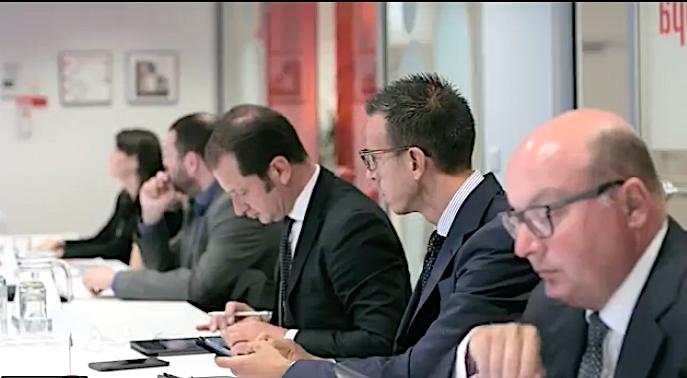 Delegazione Anip a Bruxelles ( foto d'archivio)