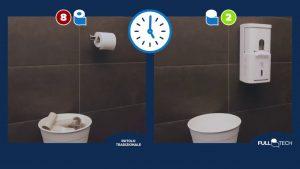 Papernet Full Tech, la carte igienica che riduce i consumi