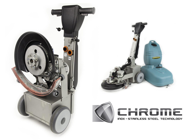 Lavasciuga Eureka E36 Chrome - INOX -