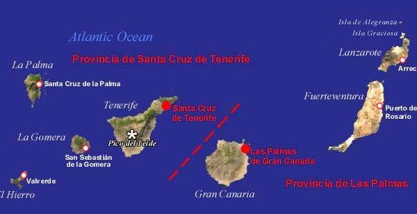Mappa-Canarie